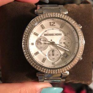 Michael Kors Silver  MK5353  Stainless Steel watch
